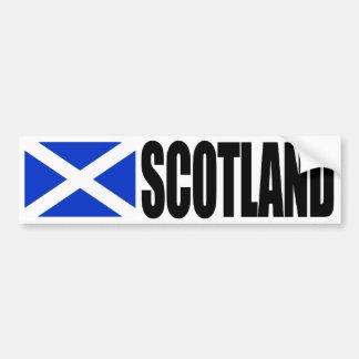 De Vlag van Schotland Bumpersticker