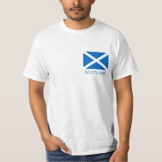 De Vlag van Schotland en de Ongebreidelde T-shirt