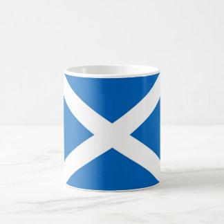 De Vlag van Schotland/Mok Saltire Basic Witte Mok