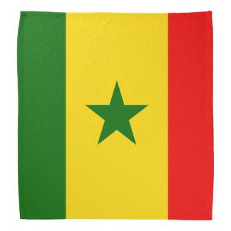 De Vlag van Senegal Bandana