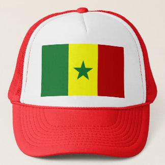 De Vlag van Senegal Trucker Pet