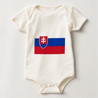 De Vlag van Slowakije Baby Shirt