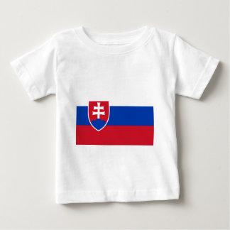 De Vlag van Slowakije Baby T Shirts