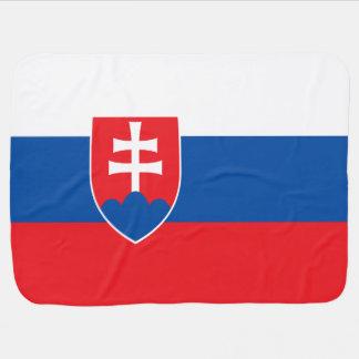 De Vlag van Slowakije Inbakerdoek