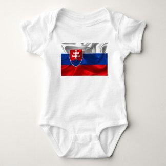 De vlag van Slowakije Romper