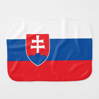 De Vlag van Slowakije Spuugdoekje