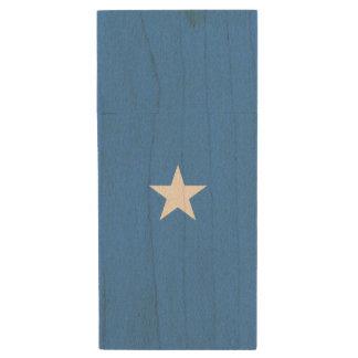 De Vlag van Somalië Houten USB 3.0 Stick