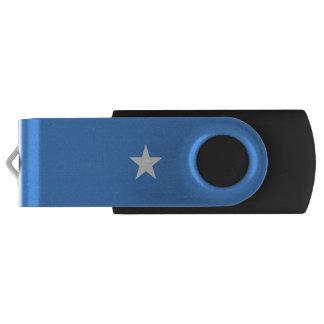De Vlag van Somalië Swivel USB 2.0 Stick