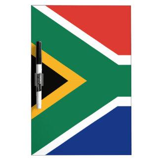 De vlag van Southafrican Whiteboards