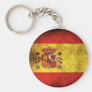 De Vlag van Spanje Sleutelhanger