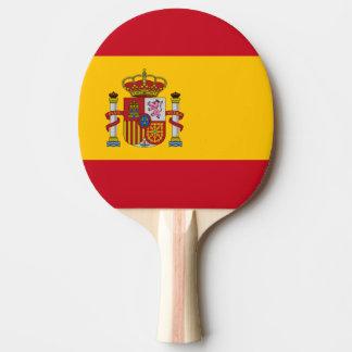 De Vlag van Spanje Tafeltennis Bat