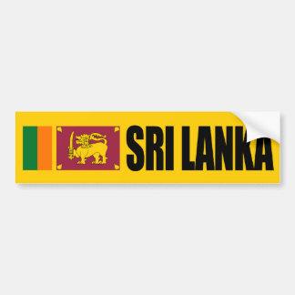 De Vlag van Sri Lanka Bumpersticker