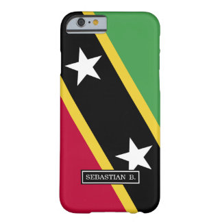 De Vlag van St. Kitts.and.Nevis Barely There iPhone 6 Hoesje