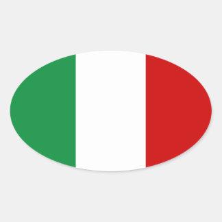 De Vlag van stickers van Italië Italiaans IL