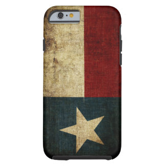 De Vlag van Texas Tough iPhone 6 Hoesje
