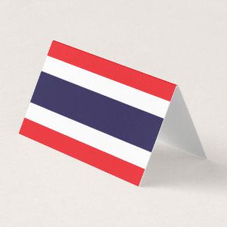 De Vlag van Thailand Plaatskaart