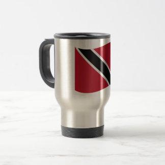 De Vlag van Trinidad en van Tobago Reisbeker