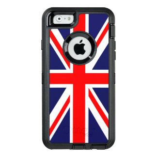 De Vlag van Union Jack OtterBox Defender iPhone Hoesje