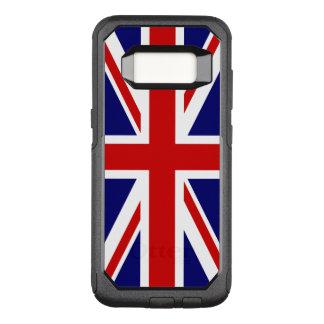 De Vlag van Union Jack van het Verenigd Koninkrijk OtterBox Commuter Samsung Galaxy S8 Hoesje