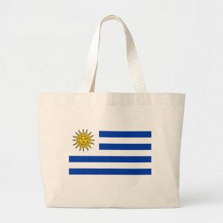 De vlag van Uruguay Grote Draagtas