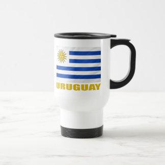 De Vlag van Uruguay Reisbeker