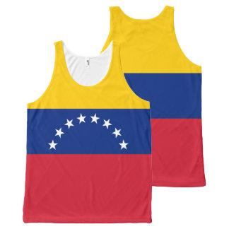 De Vlag van Venezuela All-Over-Print Tank Top