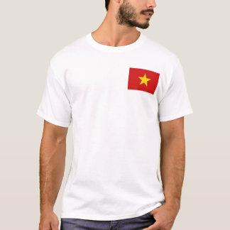 De Vlag van Vietnam en de T-shirt van de Kaart