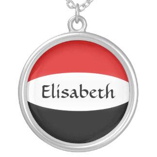 De Vlag van Yemen + Het Ketting van de naam