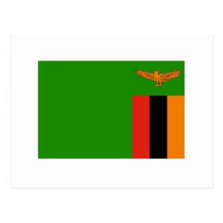De Vlag van Zambia Briefkaart