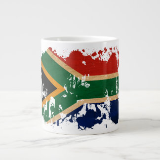 De Vlag van Zuid-Afrika Grote Koffiekop