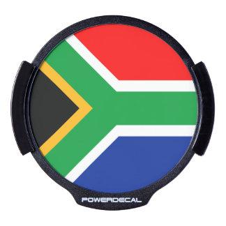 De Vlag van Zuid-Afrika LED Raamsticker
