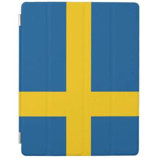 De Vlag van Zweden iPad Cover