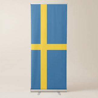 De Vlag van Zweden Roll-up Banner