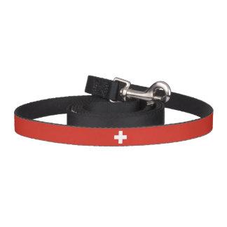 De Vlag van Zwitserland Hondenlijn