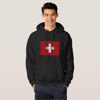 De Vlag van Zwitserland Hoodie