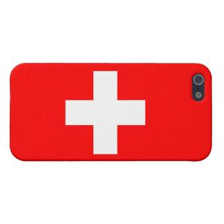 De Vlag van Zwitserland iPhone 5 Hoesje