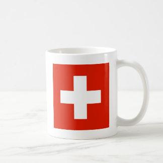 De vlag van Zwitserland Koffiemok
