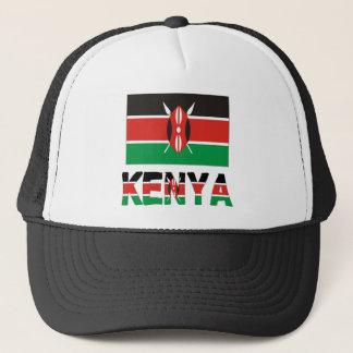 De Vlag & Word van Kenia Trucker Pet