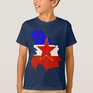 De vlagkaart van Joegoslavië T Shirt