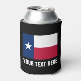 De vlagkoelboxxen van Texas | Texan houder van het Blikjeskoeler