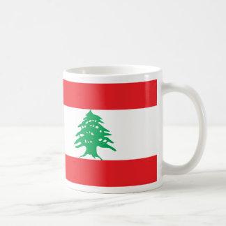 De vlagmok van Libanon Koffiemok