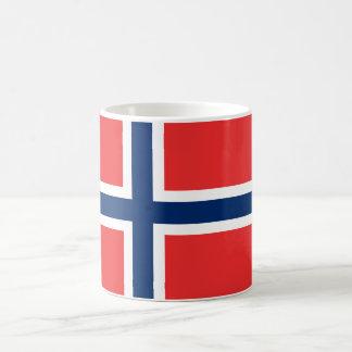 De vlagmok van Noorwegen Koffiemok