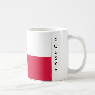 De vlagmok van Polen Koffiemok