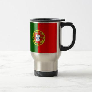 De vlagmok van Portugal Reisbeker