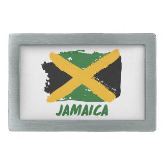 De vlagontwerp van Jamaïca Gespen