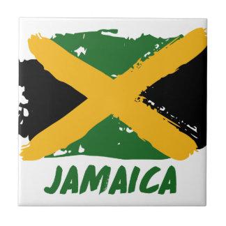 De vlagontwerp van Jamaïca Tegeltje Vierkant Small