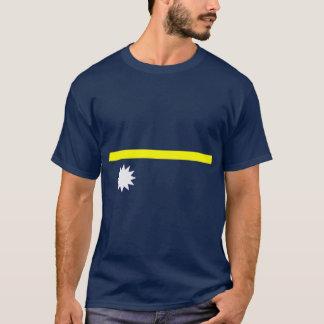 De vlagoverhemd van Nauru T Shirt