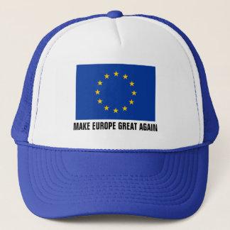 De vlagpet | van de Europese Unie MAAKT EUROPA Trucker Pet