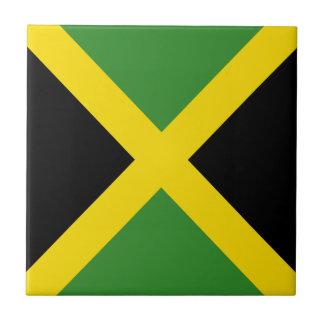 De vlagproducten van Jamaïca Tegeltje Vierkant Small