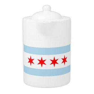 De vlagtheepot van Chicago!